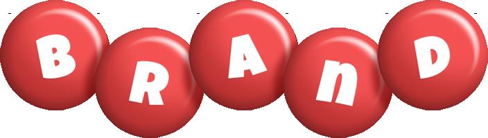 Brand candy-red logo