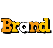 Brand cartoon logo
