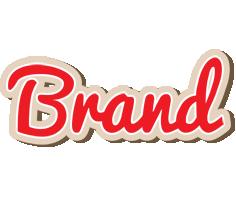 Brand chocolate logo