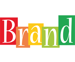 Brand colors logo