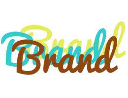 Brand cupcake logo
