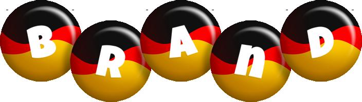 Brand german logo