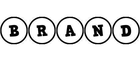 Brand handy logo