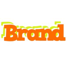 Brand healthy logo