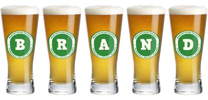 Brand lager logo