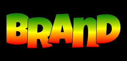 Brand mango logo
