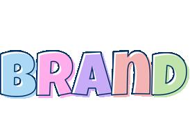 Brand pastel logo