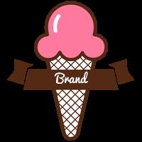 Brand premium logo