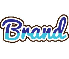 Brand raining logo