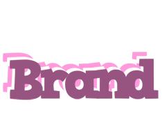 Brand relaxing logo