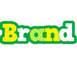 Brand soccer logo