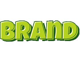 Brand summer logo