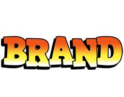 Brand sunset logo