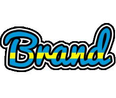 Brand sweden logo