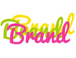 Brand sweets logo