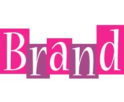 Brand whine logo