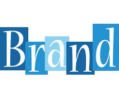 Brand winter logo