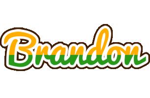 Brandon banana logo