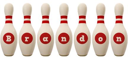 Brandon bowling-pin logo