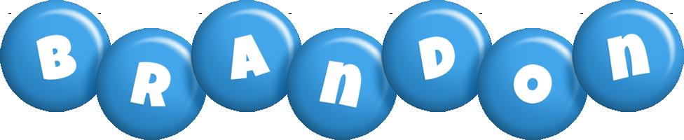 Brandon candy-blue logo