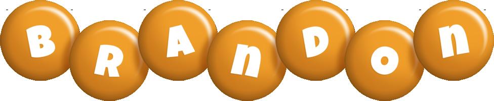 Brandon candy-orange logo