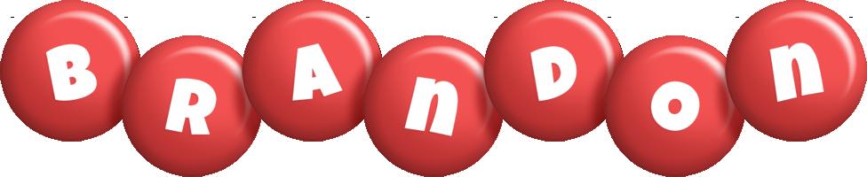 Brandon candy-red logo