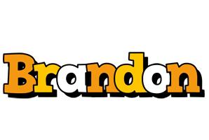 Brandon cartoon logo