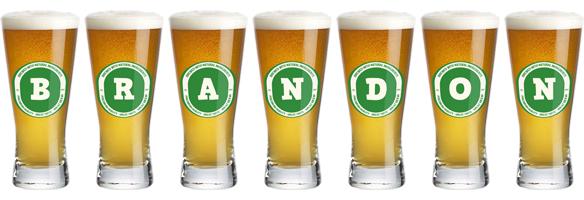 Brandon lager logo