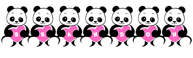 Brandon love-panda logo