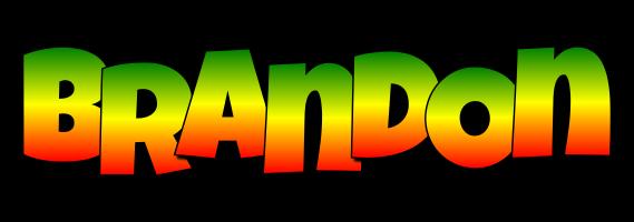 Brandon mango logo