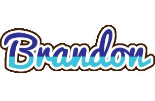 Brandon raining logo