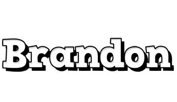Brandon snowing logo