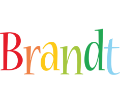 Brandt birthday logo