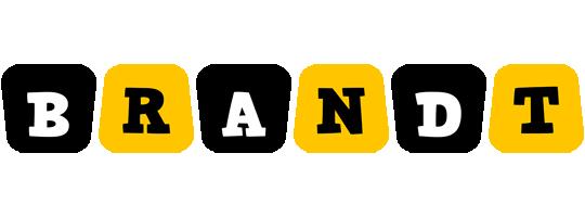 Brandt boots logo