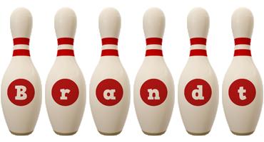 Brandt bowling-pin logo