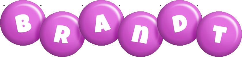 Brandt candy-purple logo