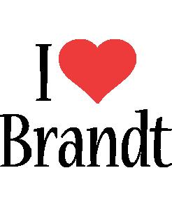 Brandt i-love logo