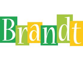 Brandt lemonade logo