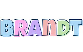 Brandt pastel logo