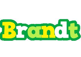 Brandt soccer logo