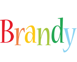 Brandy birthday logo