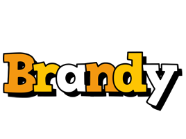 Brandy cartoon logo