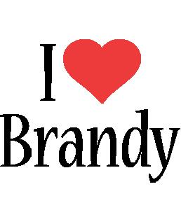 Brandy i-love logo