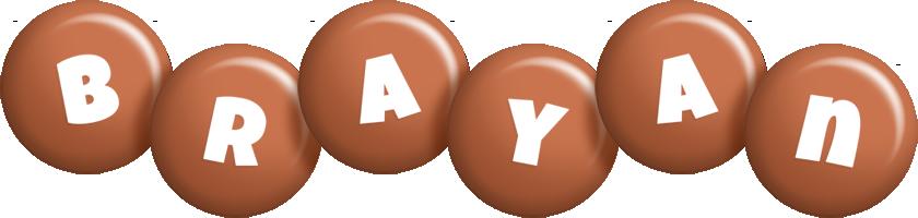 Brayan candy-brown logo