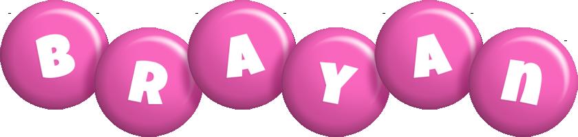 Brayan candy-pink logo