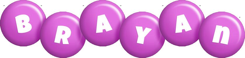Brayan candy-purple logo