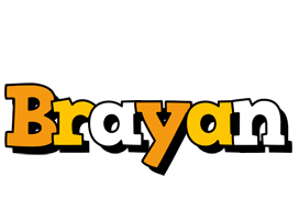 Brayan cartoon logo