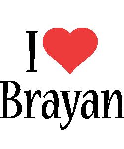 Brayan i-love logo