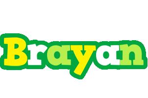 Brayan soccer logo