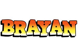 Brayan sunset logo